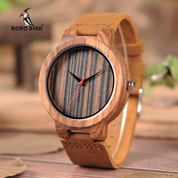 Бобо птица CbC17 классический Стиль часы коричневый Натуральная кожа наручные часы для мужчин, как лучшие подарки Бесплатная доставка