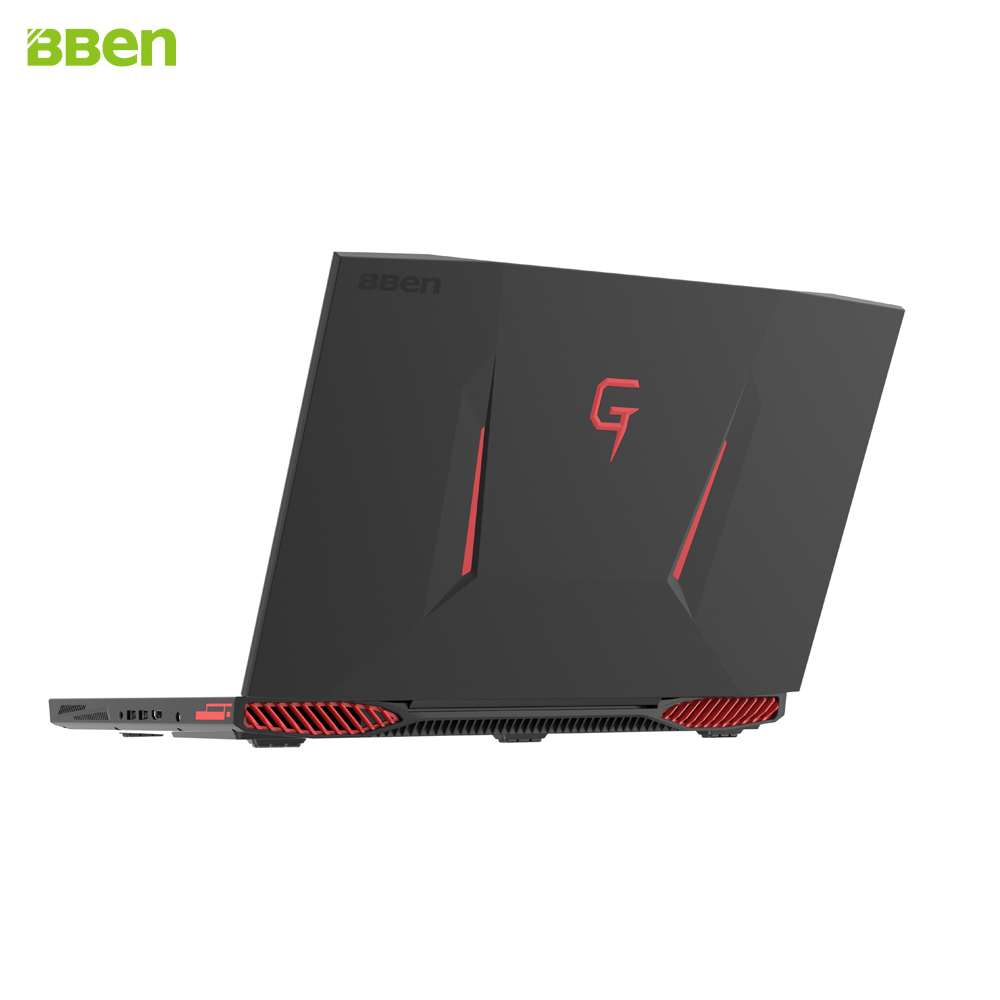 BBEN Laptop Computer for Gaming Intel i7 7700HQ 6G GDDR5 NVIDIA GTX1060 Windows 10 16GB DDR4