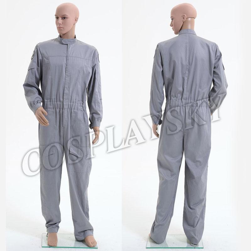 Flightsuit Technician  Jumpsuit Cosplay Costume  Halloween Pilot Uniform For Man Adults