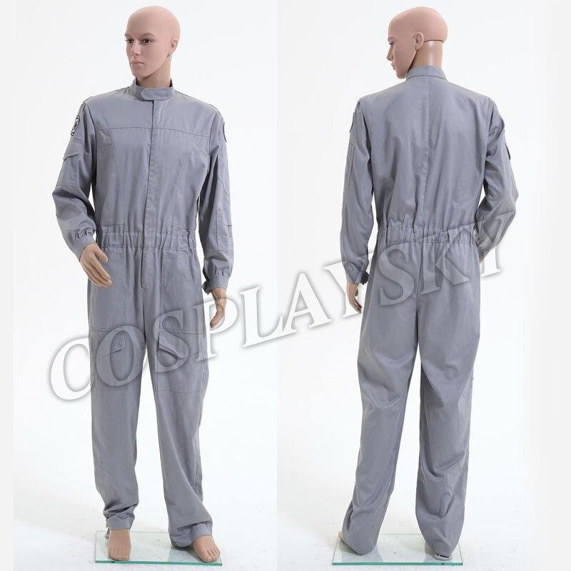 Star Wars Imperial Flightsuit Technicien Salopette Cosplay Costume Halloween Pilote Uniforme Pour Homme Adultes