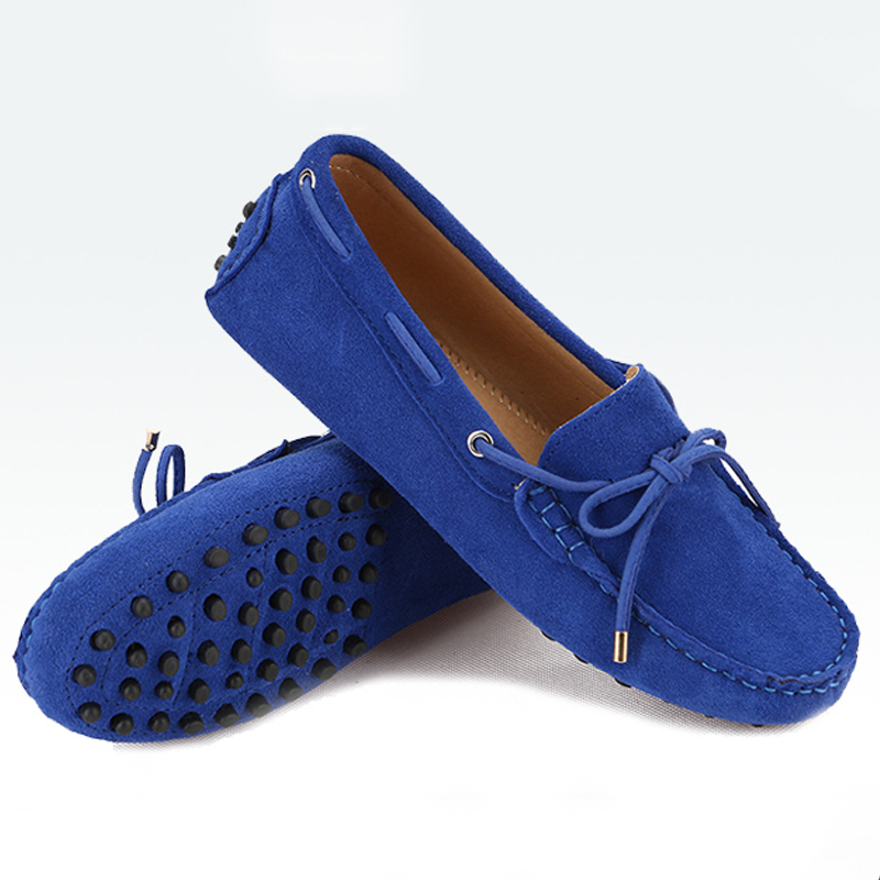 ФОТО Shoes Woman 2017 100% Genuine Leather Women Flat Shoes 17 Colors Casual Loafers Women Shoes Flats Moccasins Lady Driving Shoes
