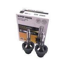 2pcs/lot 12V 35W D1 D2 D3 D4 Xenon Bulb D2S D2R D4S D4R D1S D3S Car Headlights for BMW Benz Audi Q3 Q5 Q7 A5 A4L A8L