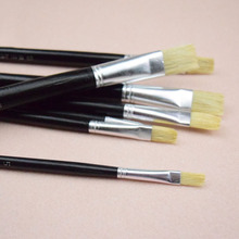 12pcs/Set,pig bristle brush oil painting brush gouache watercolor brush Kids DIY Drawing Art Tools Materials Art Supplies