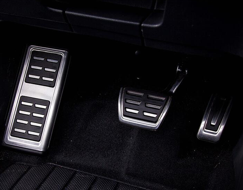 Car Interior rest pedal Foot Fuel Brake Clutch AT pedals for VW TIGUAN mk2 Car accessories