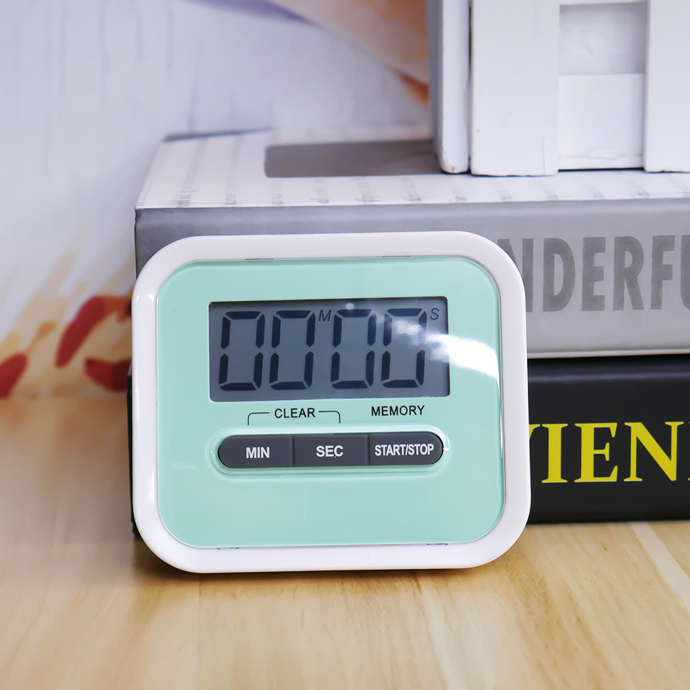 Multi Use LCD Digital Kitchen Cooking Timer Count Down Up Clock ...
