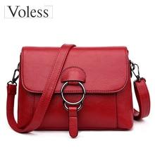 купить 2017 New Women Messenger Bags Designer Ladies Cross Body Bags Women Leather Handbag Crossbody Bag Sac A Main De Marque  онлайн