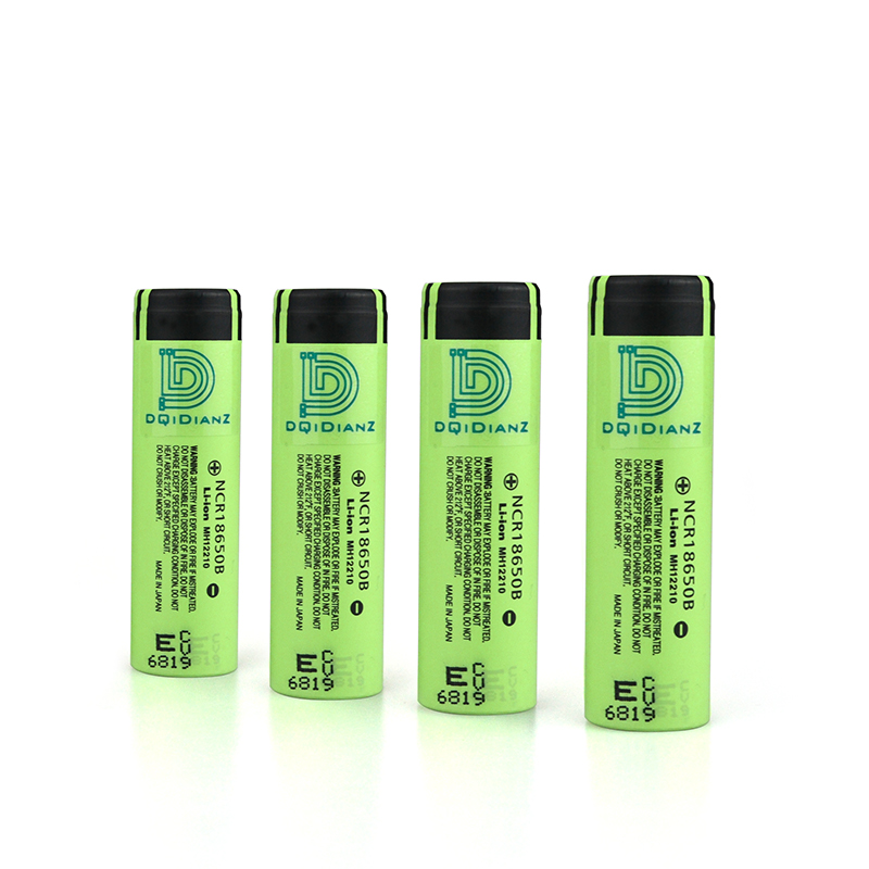 DQiDianZ NCR18650B 2PCS/4PCS 3.7V 4.8A 3400mAh 18650 Rechargeable battery use for Panasonic batteries cell for Flashlight