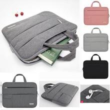 Men Women Portable Handbag 11 13 14 15.6 Laptop Bag Case For Apple Macbook Pro Air Notebook Surface Pro 3 4 5 6 Laptop Sleeve
