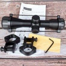NEUE Taktische 4X32 Luftgewehr Optik Sniper Bereich Compact Zielfernrohre jagd scopes mit 20mm/11mm schiene halterungen