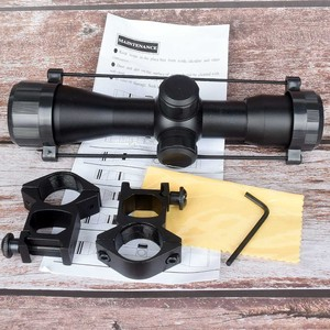 Image 1 - NEW  Tactical 4X32 Air Rifle Optics Sniper Scope Compact Riflescopes hunting scopes with 20mm/11mm Rail mounts