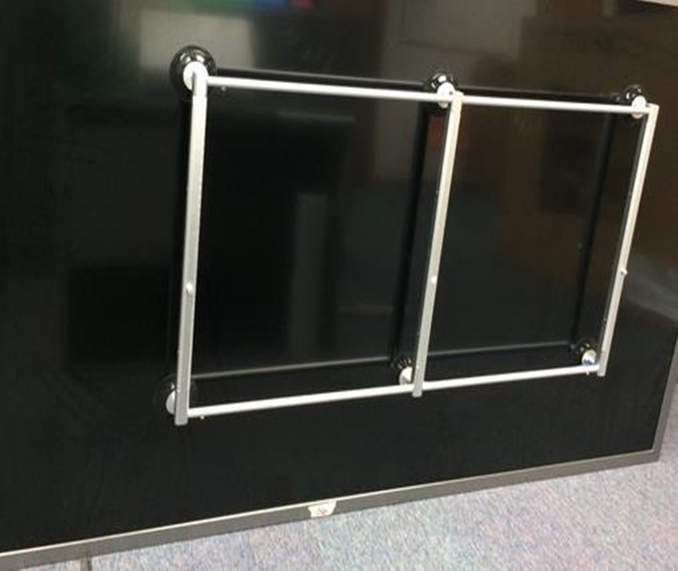 6 suction cup! Non Retractable Suction Brackets TV lifter. LED TV suction lifter. LCD glass vacuum hand, large touch screen Use
