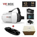 "Original Google Cardboard VR BOX I 1.0 VR Virtual Reality 3D Glasses for 4"" - 6"" Smartphone + Black Bluetooth Gamepad"
