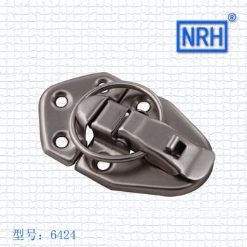 NRH6424 box buckle Lock Hasp Luggage lock Hardware lock clasp Nickel plated iron