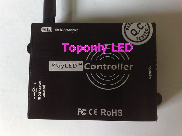 BiNFU controller strips playLED