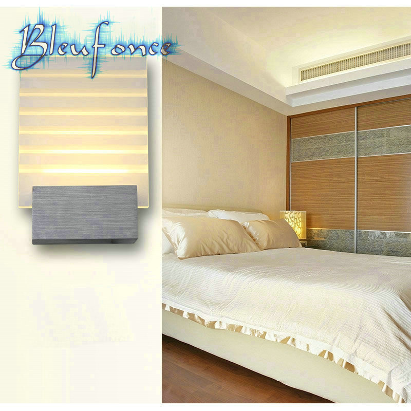 ФОТО Indoor LED Wall Lamp Acrylic Wall Lamp Bedside Light Modern Minimalist Bedroom Wall Light KTV Engineering Sailboat Wall Sconce