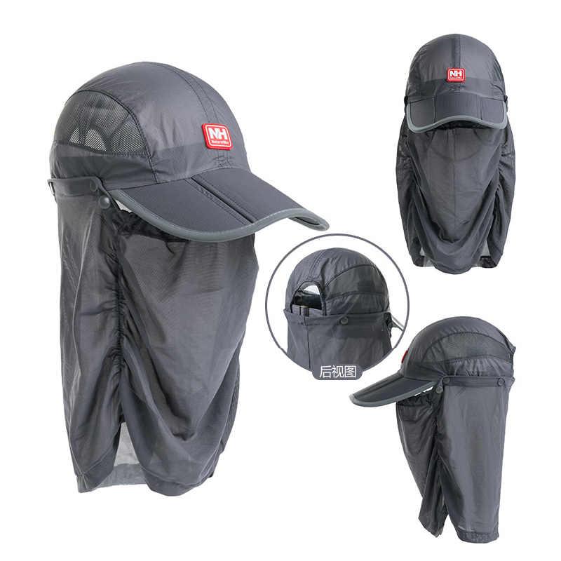 Naturehike outdoor UV-bescherming hoeden ademend mug caps sport vissen zonnescherm hoed midge insect bee hoofd gezicht protector