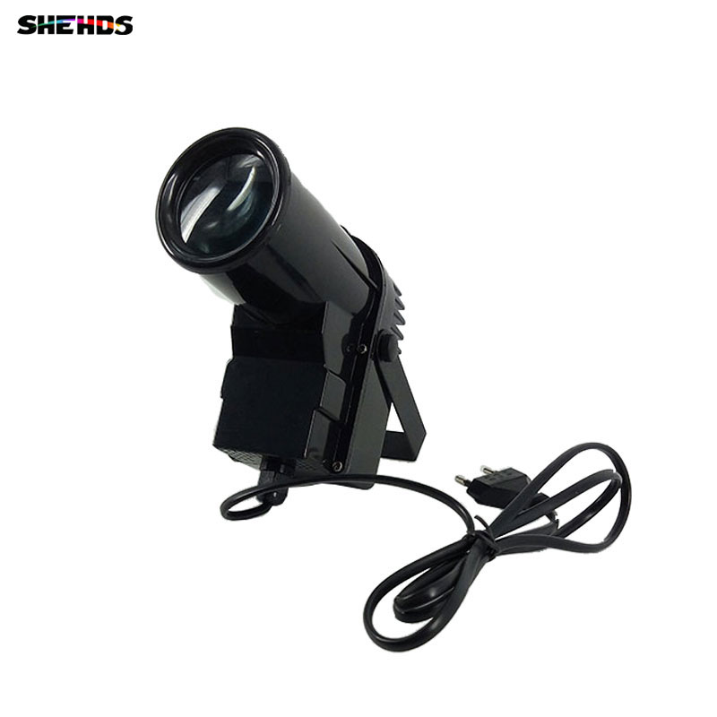 The Latest 10W Spotlight LED RGBW 4in1 Led Pinspot Beam Lights For Mirror Ball For Disco DJ Party Event Live Show(China)