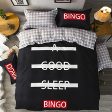 Svetanya Sheet Pillowcase Duvet cover set pastoral Bird printing Bedding sets queen double full Twin size Bedlinen Cotton