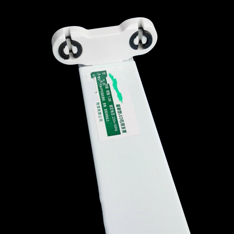 NOVLED LED T8 Tube Bracket For 2Ft 2X60cm Fluorescent Lamp