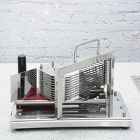 1pc HT 4 Commercial Manual Tomato Slicer Onion Slicing Cutter Machine Vegetable Cutting Machine