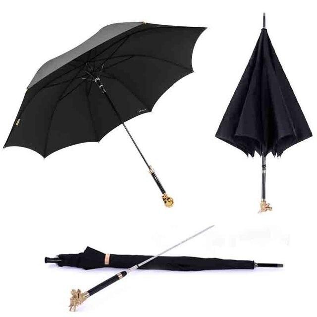 safebet brand 12 chinese zodiac long handle man umbrella high