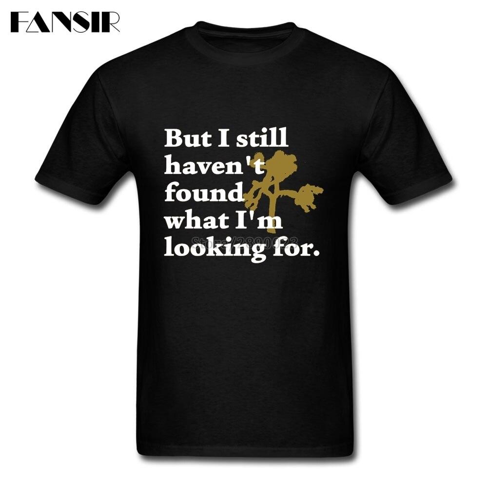 Ich Noch nicht Gefunden Joshua Baum U2 Band Männer T-shirts Neue Design...