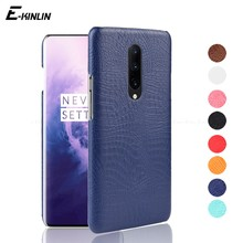 Ultrathin Crocodile Skin Snake Print Leather Case For OnePlus One Plus 7 Pro 6T 6 5T 5 3T 3 X 2 1 A6000 A6010 A5010 Back Cover(China)