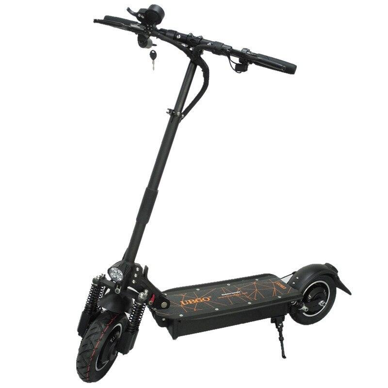 Scooter électrique se pliant d'entraînement de Double de 60 V/52 V 2000 W pour des adultes