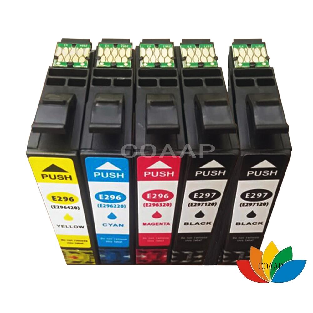 5 Compatible EPSON XP 431 231 241 Printer Ink Cartridges for T2971BK T2962C T2963M T2964Y 29XL