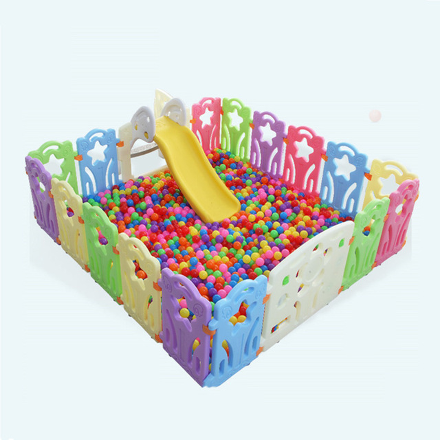 Indoor Kids Baby Fence Playground Children Playpens Toddler Activity Gear Ourdoor Games Safety Play Yard
