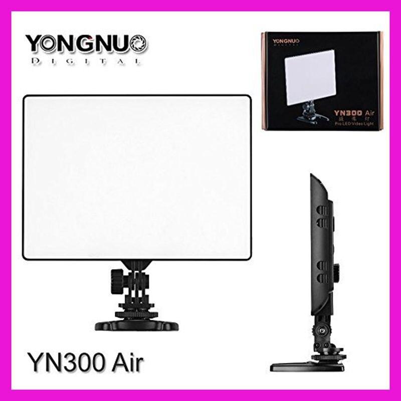 Adjustable Color Temperature 3200K-5500K Yongnuo YN300 YN-300 Air Pro LED Video Studio Light