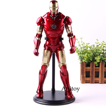 Marvel Avengers Infinity War Iron Man Mark 3 1/6th Scale Iron Man Figure PVC Collection Action Figure Model Toy