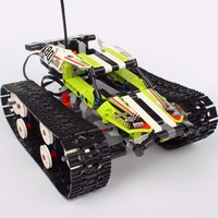 Hot Lepin 20033 397Pcs Technic Series The RC Track Remote Control Race Car Set Building Blocks
