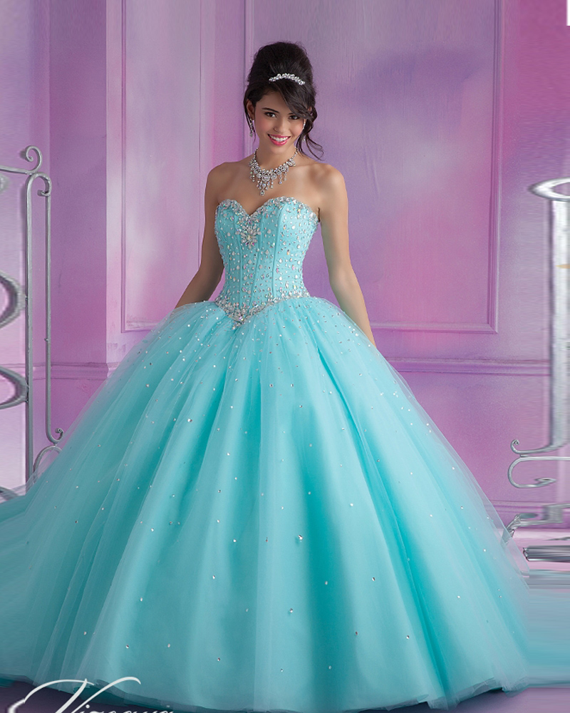Vestidos De 15 Anos De Debutante Turquoise/Pink Quinceanera Ball Gown 2019 Long Sweet 16 Vestido De Quinceanera   bridesmaid     dress