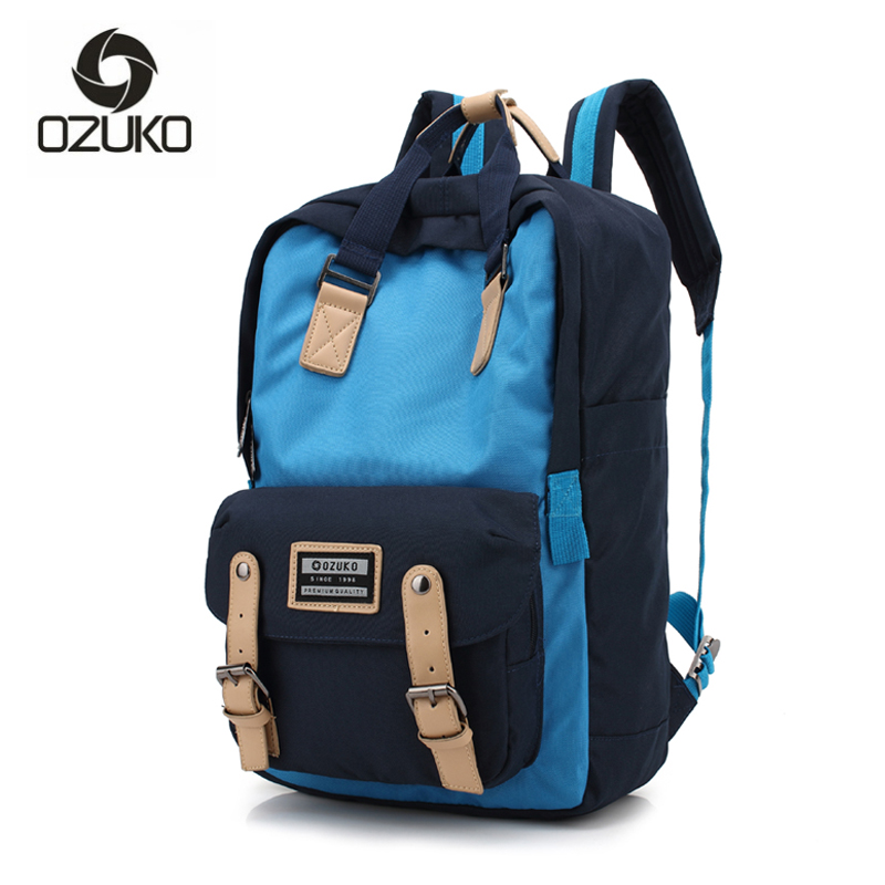Classic Canvas Backpack College Student School Backpack Bags for Teenagers Girls Fashion Mochila Casual Rucksack Travel Daypack chic canvas leather british europe student shopping retro school book college laptop everyday travel daily middle size backpack