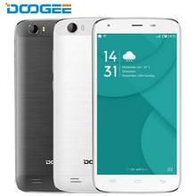 """Оригинал DOOGEE T6 Pro 5.5 """"HD экран MTK6753 Octa Core 1.5 ГГц Android 6.0 3 ГБ оперативной памяти 32 ГБ ROM 6250 мАч батареи 13.0MP смартфон"""