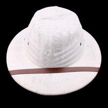 Тропический шлем шляпа отличная летняя шляпа для пчеловода путешественника авантюриста белая