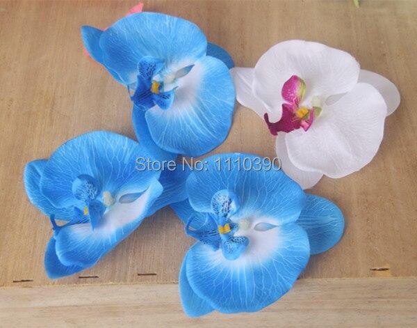 Orchideen Kopf 11 cm große simulation schmetterling touch orchidee künstliche