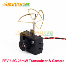 FX797T FX798T 5.8G 25mW 40CH AV Transmitter NTSC with 600TVL Camera Mini Combo for RC QAV Racing Drone