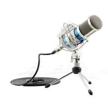 Professional BM-800 BM800 Condenser KTV Microphone Cardioid Pro Audio Studio Vocal Recording Mic KTV Karaoke Metal Shock Mount