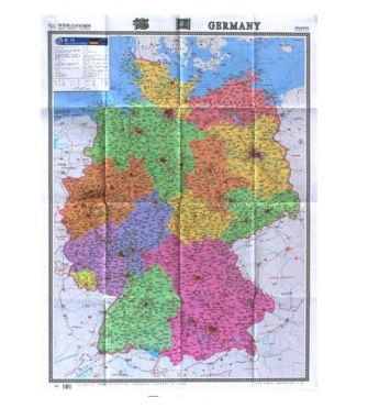 aliexpresscom buy german germany detailed education decorative maps for kids room map big chinese english version home decor gift from reliable english