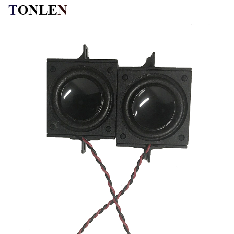 TONLEN 2PCS 28mm Full Range Speaker 8ohm 3 W DIY Small ...