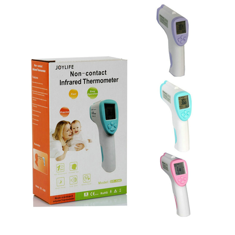 Non-contact infrared ray thermometer baby electronic ear-temperature gun Child adult