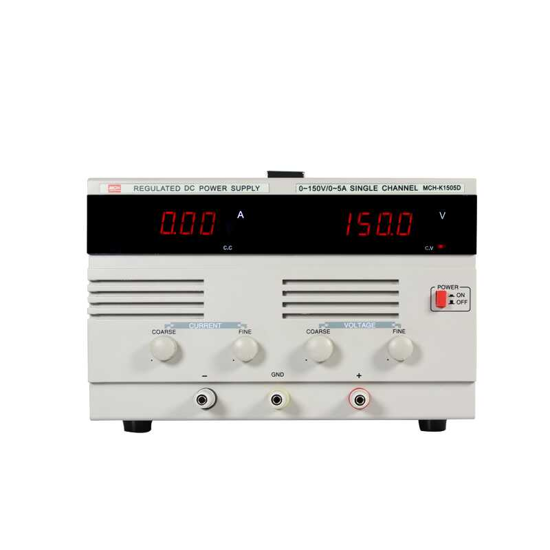MCH-1505D High-power DC stabilized switching power supply digital display adjustable MCH 1505D maintenance aging test nuprime mch k38