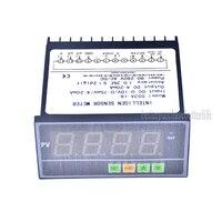 Intelligen Sensor Meter Pressure Transmitter Display Meter, 0 75mV/4 20mA/0 10V DC Input Sensor Display Meter
