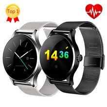 100% оригинал K88H bluetooth-смарт часы спорт здоровье Smartwatch монитор сердечного ритма для apple , huawei Android ISO телефон