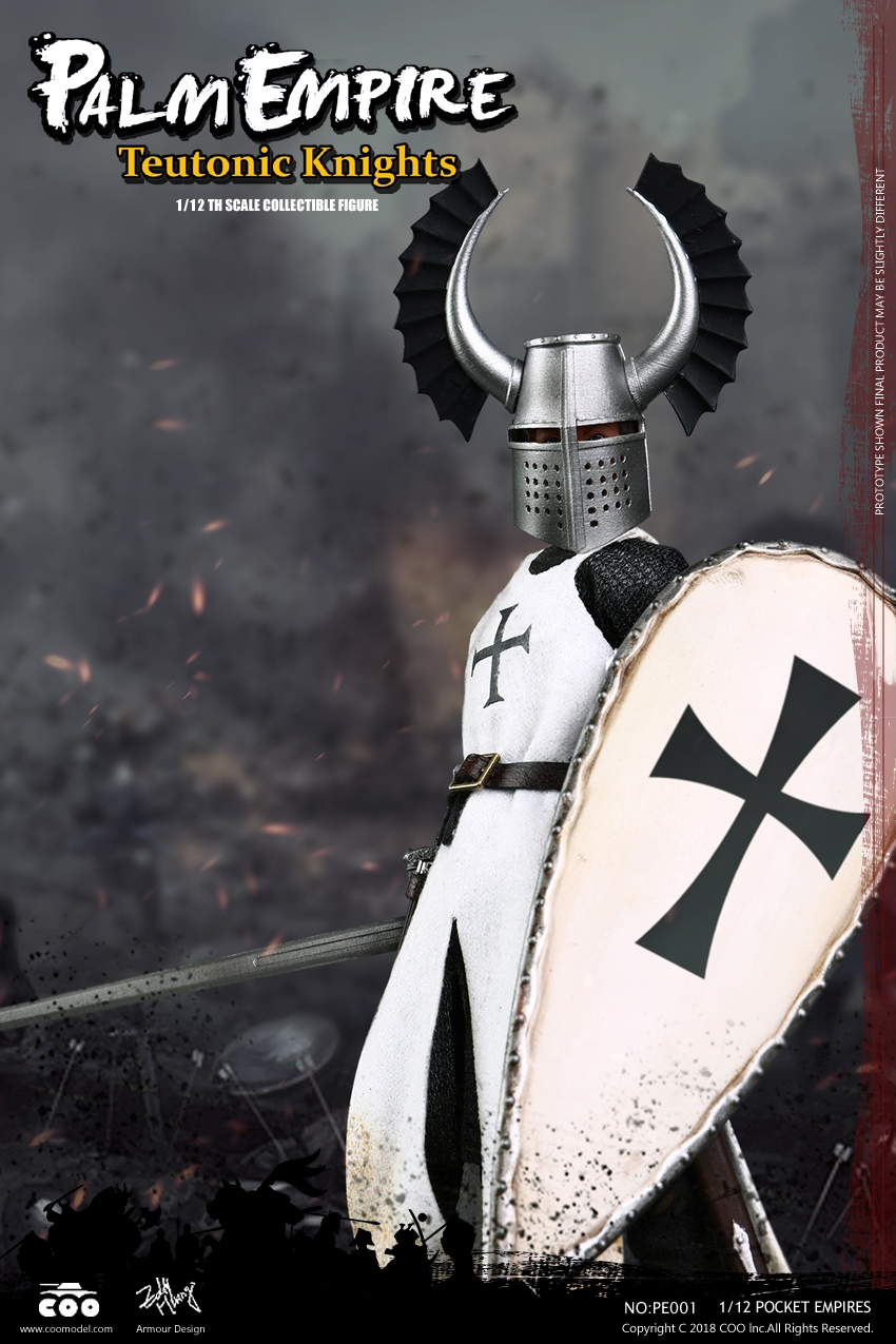 COOMODEL PE001 جيب الامبراطوريات Warrior توتوني فارس 1/12 الشكل-في شخصيات دمى وحركة من الألعاب والهوايات على  مجموعة 1