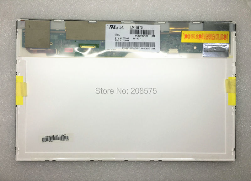 Free shipping! Brand new LTN141BT04 LP141WP2 TLB1  14.11440*900 WXGA+ For ThinkPad T400 R400 LCD screen brand new a lp141wp2 tl b1 ltn141bt04 with fru for t400 r400