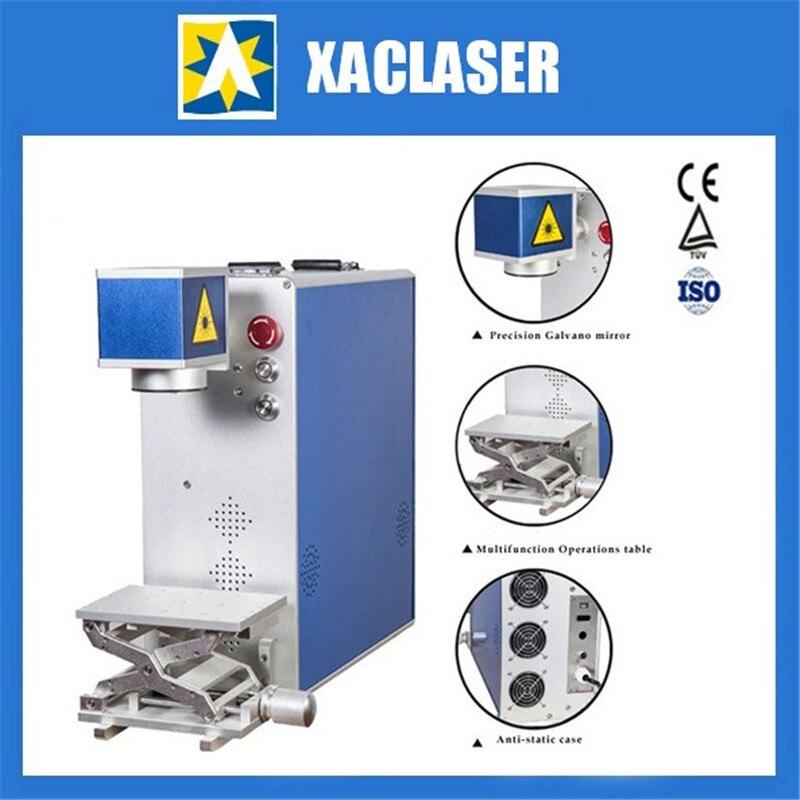 Machine de marquage Laser à Fiber optique 20 W/30 W pour couteau, lunettes, horloge, cuisinière
