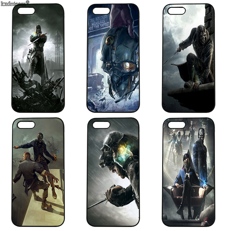 Game Dishonored 2 Emily Kaldwin Hard Phone Cases Cover Fitted for iphone 8 7 6 6S Plus X 5S 5C 5 SE 4 4S iPod Touch 4 5 6 Shell
